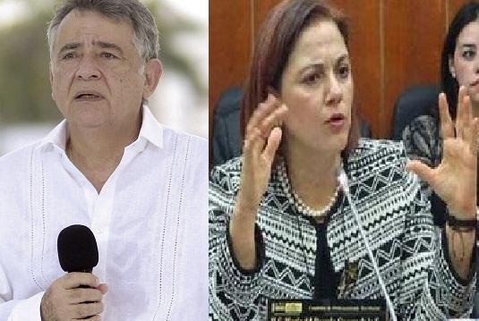 Gobernador de Sucre se alía con Yahir Acuña. Rechazo esa alianza corrupta y politiquera: Senadora Guerra