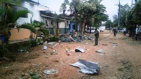 Terroristas invaden con su terror también a la población en Los Ángeles, Río de Oro, Cesar