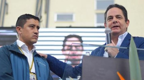 Vargas Lleras ofreció disculpas a su escolta por el coscorron en Ciénaga de Oro