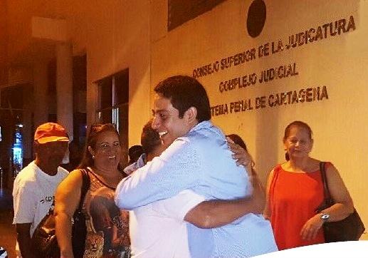 Concejal Jorge Useche sorpresivamente regresó este 24 de diciembre al Concejo de Cartagena