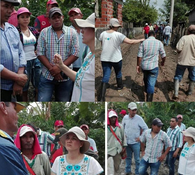 Senadora María del Rosario Guerra, reiteró el llamado de atención por el abandono del Gobierno a La Mojana