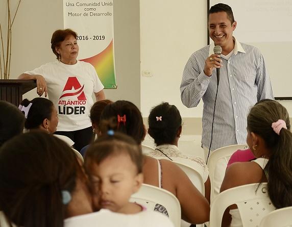 Gobernación del Atlántico prepara a las mujeres para resolver conflictos pacíficamente