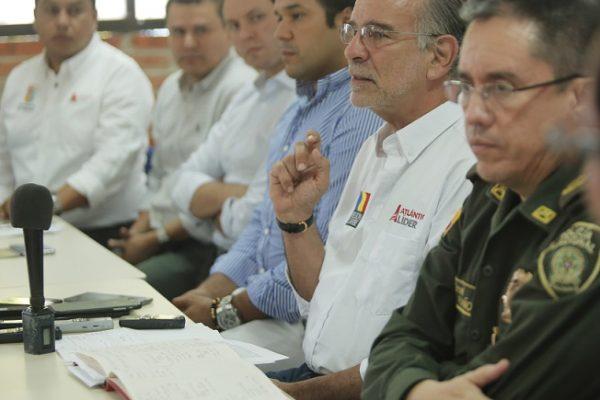 Gobernador Verano preside Consejo de Seguridad por estrategia para carnavales