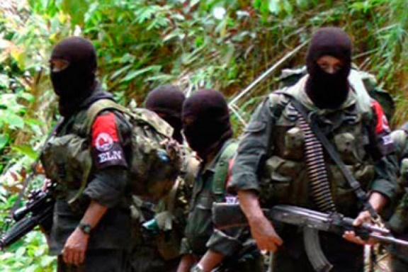 En Colombia, guerrilla del ELN, anunció paro armado nacional los días del 10 al 13 de febrero