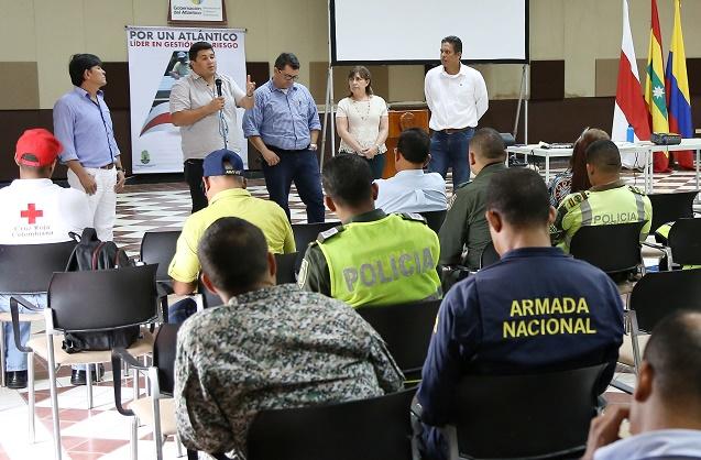 Activa planes de contingencia en 9 municipios y Barranquilla por incendios forestales en Atlántico