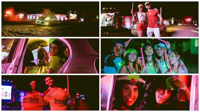 Así se vivió el Reto Nissan March en Storyland Music Festival en Cartagena