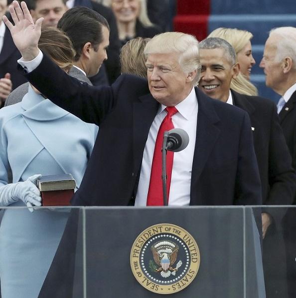 Trump aseguró que con su posesión como presidente de los Estados Unidos, regresa el poder al pueblo!