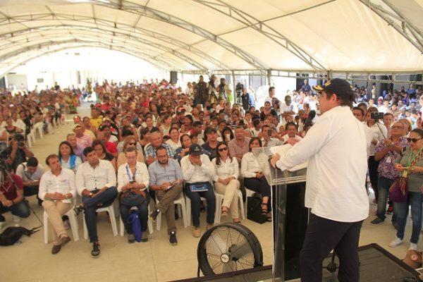 Vargas Lleras visitó e inauguró obras en  Barranquilla, Soledad y Baranoa