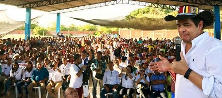 En 2 días por el Magdalena Vargas Lleras ha visitado 7 municipios y dejado en construcción 1.580 viviendas gratis
