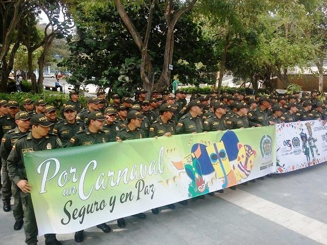 Más de 7.300 efectivos de la Policía, entre ellos encubiertos y disfrazados ofrecerán seguridad en Carnavales
