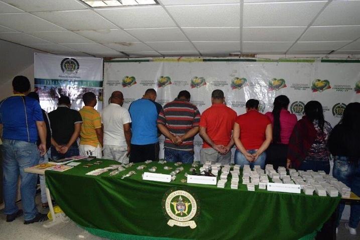 Golpe a estructura el chance ilegal en el Atlántico, Policía captura a 26 personas