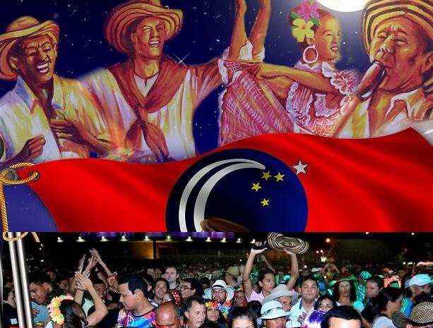 Con rueda de cumbia la Fundación Tambó iza bandera del carnaval