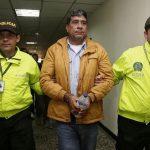 En firme medida privativa de la libertad contra Pedro Aguilar, presidente de la Asociación Colombiana de Camioneros