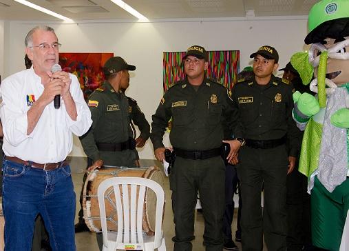 Atlántico contará con 3.049 efectivos de la Policía para reforzar seguridad en Carnaval