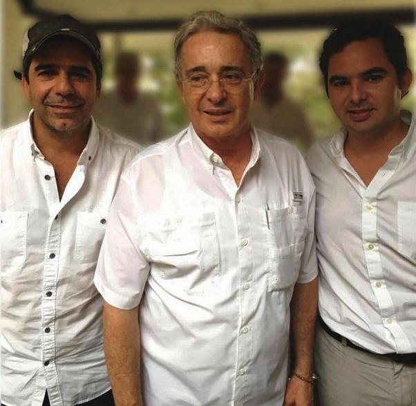 Uribe se reunió con el alcalde Alejandro Char en Barranquilla