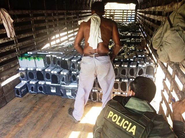 En tiempo record Policía recupera mercancía hurtada avaluada en $ 814.000.000 millones de pesos.