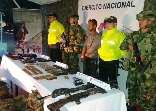 Contundente golpe en el sur de Bolívar: Dado de baja en combate cabecilla del Eln