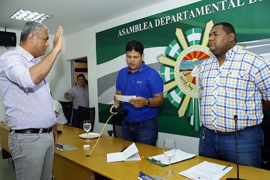 Asamblea del Cesar elige al azar y bajo el reglamento a Gelver Cárdenas primer vicepresidente