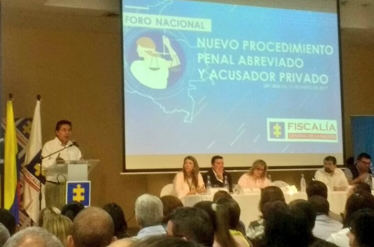 Con la Ley de Procedimiento Abreviado y el Centro Modular de Recepción de Denuncias. Fiscal combatirá la criminalidad en Barranquilla