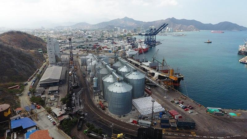 Puerto de Santa Marta amplía su terminal de graneles