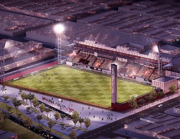 Distrito de Barranquilla adjudicó obras de construcción del nuevo estadio Moderno