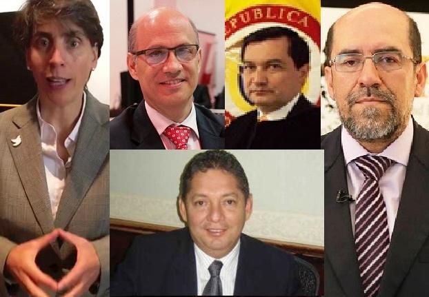 Por sus prontuarios, ellos no deben ser incluidos en la terna de aspirantes a magistrados de la Corte Constitucional
