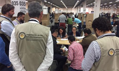 Plebiscito del 2 de octubre: Desbalance, desequilibrio y parcialidad en la pregunta: Informe de la Misión de la OEA