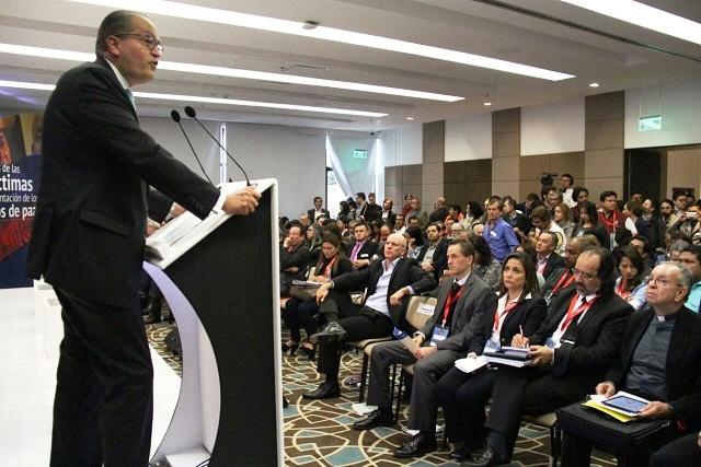 La paz debe ser el triunfo de las víctimas garantizando sus derechos y su participación efectiva: Procurador
