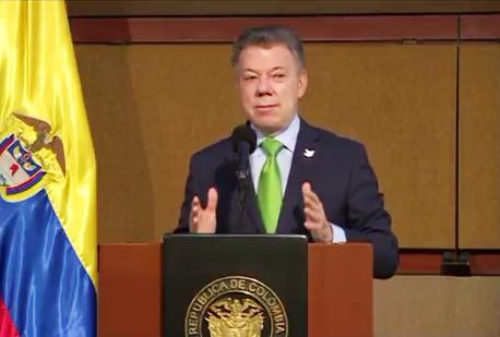 Santos anunció que presentará al Congreso proyecto de Reforma rural