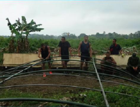 Por lo menos 60 militares venezolanos invaden territorio colombianos en Arauquita e instalan campamento