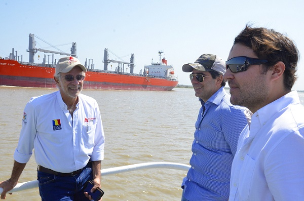 Verano y Char solicitan al Presidente que declare Urgencia Manifiesta en el canal de acceso al Puerto de Barranquilla