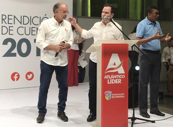 Diputados del Atlántico acompañaron rendición de cuentas de Verano