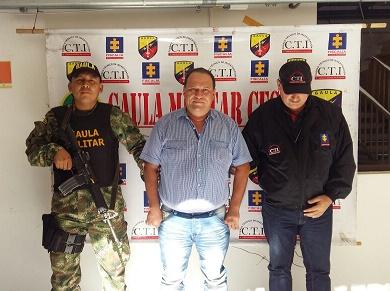 Gaula Militar Cesar y CTI capturan al gerente de la EPSI indígena Dusakawi en Valledupar