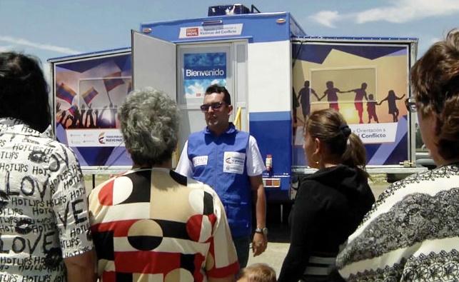 Unidad Móvil de Atención y Orientación a las Víctimas inicia recorrido por 61 municipios
