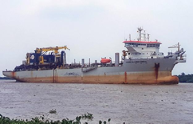 Este jueves iniciará dragado del canal de acceso al puerto de Barranquilla