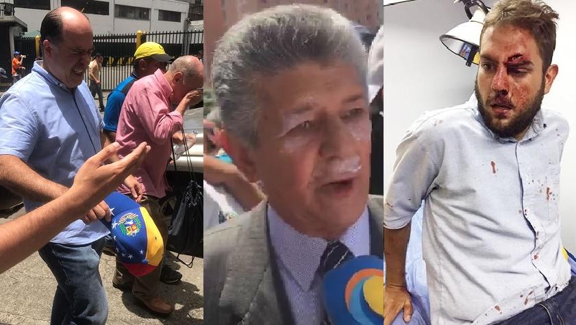 Arrecia el Régimen Maduro: Diputados venezolanos son agredidos en Caracas