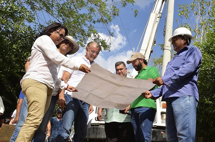 Gobernación puso en marcha proyecto de electrificación rural para tres veredas de Sabanalarga