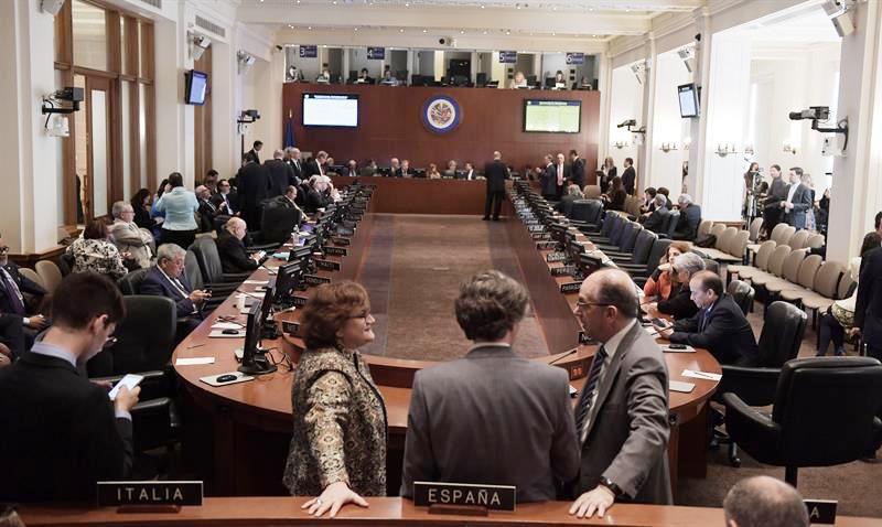 Consejo Permanente de la OEA, aprobó Resolución que reconoce el golpe a la Asamblea de Venezuela y activa la Carta Democrática