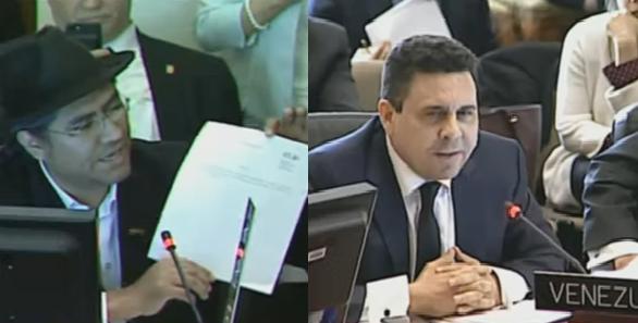 Maduro califica a la OEA como Tribunal de la Inquisición. A Venezuela y Bolivia les falló la manipulación en la OEA