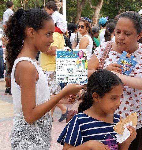 Este sábado, Gran Jornada Nacional de Vacunación, el Materno Infantil de Soledad apoya la jornada