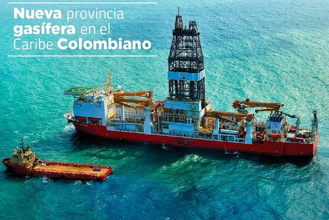 Santos anunció este miércoles descubrimiento de gran provincia gasífera en el Mar Caribe