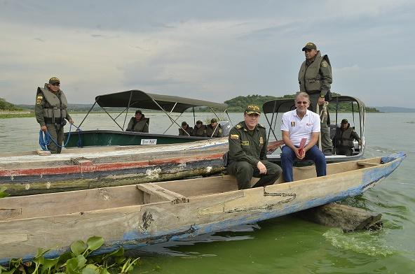 Verano ordena patrullajes para controlar pesca ilegal y garantizar seguridad en el Guájaro