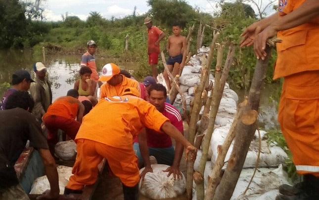 Emergencias por lluvias en la Costa, prevención por inundaciones del río Magdalena y Cauca. Preocupación y alerta en La Mojana