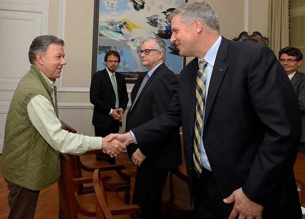 Universidad de Pittsburgh según Santos, busca consolidar relaciones con Colombia en temas de educación y salud