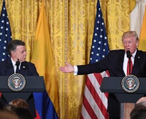 En presupuesto de Trump al Congreso ni Venezuela ni Cuba recibirán un dolar más. Y recorta 45% al Acuerdo Santos Farc