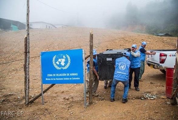 Cifras de armas y guerrilleros no cuadran: La ONU, tiene el 40% de 7.000 armas verificadas. Faltan las 947 caletas de las Farc?