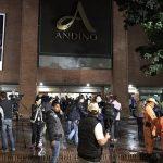 8 capturados, 4 hombres y 4 mujeres supuestos autores del atentado terrorista en el Andino