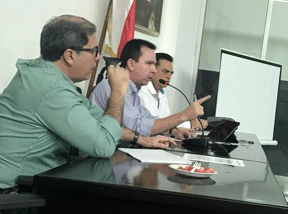 Diputados del Atlántico en agenda de control político, evaluaron la gestión del Secretario de Salud