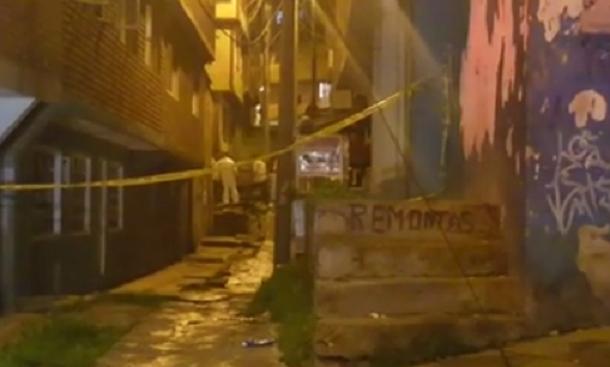 Siete personas heridas esta madrugada en explosión en Bogotá
