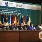 Finalizó Asamblea 47 de la OEA: Mientras ellos cuentan votos, en Venezuela cuentan muertos. La discusión quedó abierta